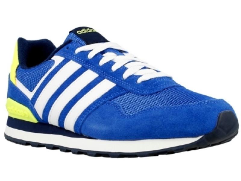 adidas 10k sneakers blauw dames