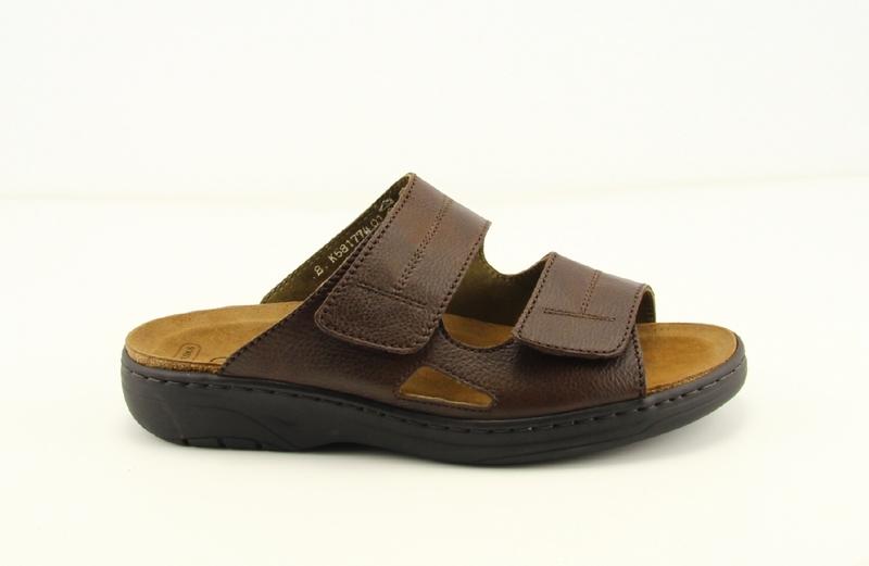 Solidus Hommes Pantoufles (brown) JXPVkm