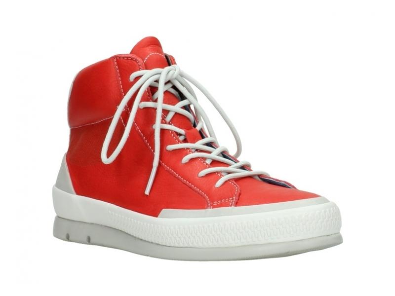Wolky Sneakers 01925 Bromo - 30500 rood leer
