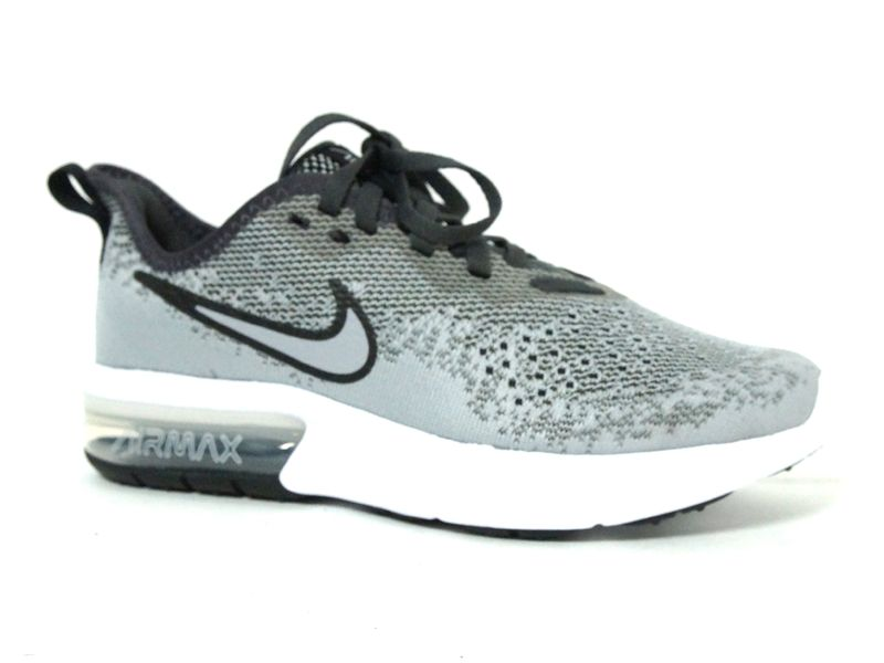 nike air max sequent grijs