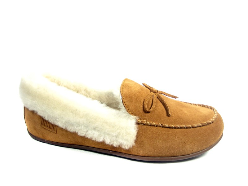 FitFlopTM ClaraTM Shearling Moccasin
