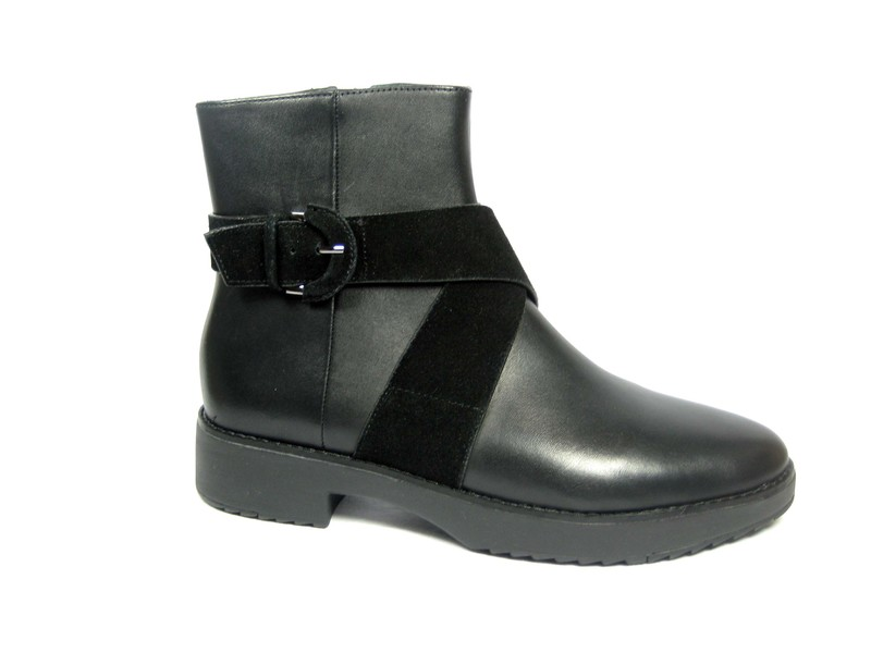FitFlopTM MONATM Buckle Ankle Boots