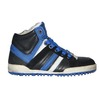 Zwart / cobalt blauw