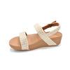 FitFlopTM Lottie Glitter Stripe Bak trap sandals