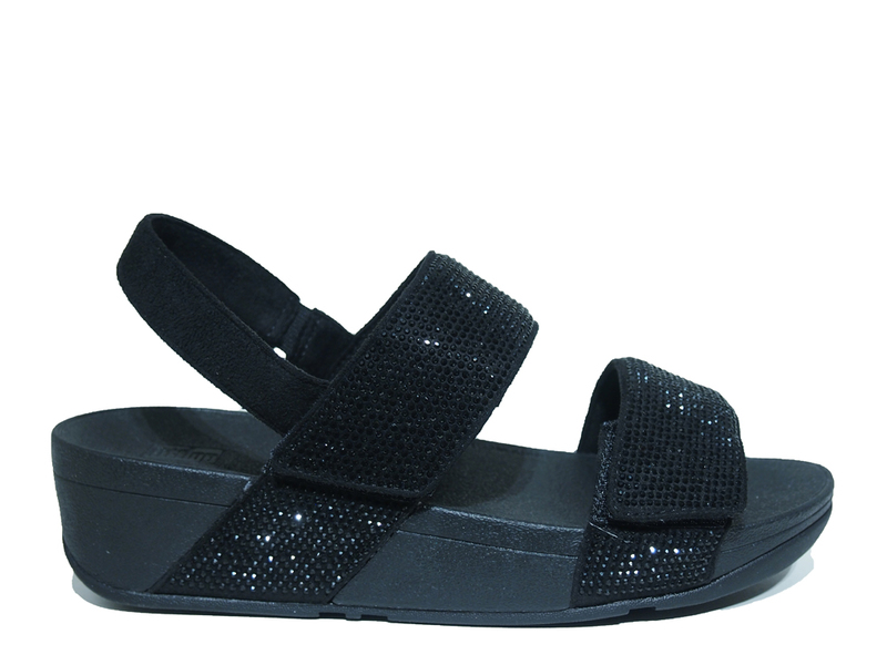 FitFlopTM Mina Crystal Back Strap Sandals