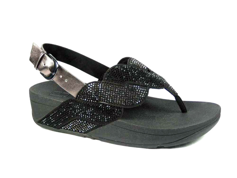 FitFlopTM Paisley Rope Back Strap Sandals