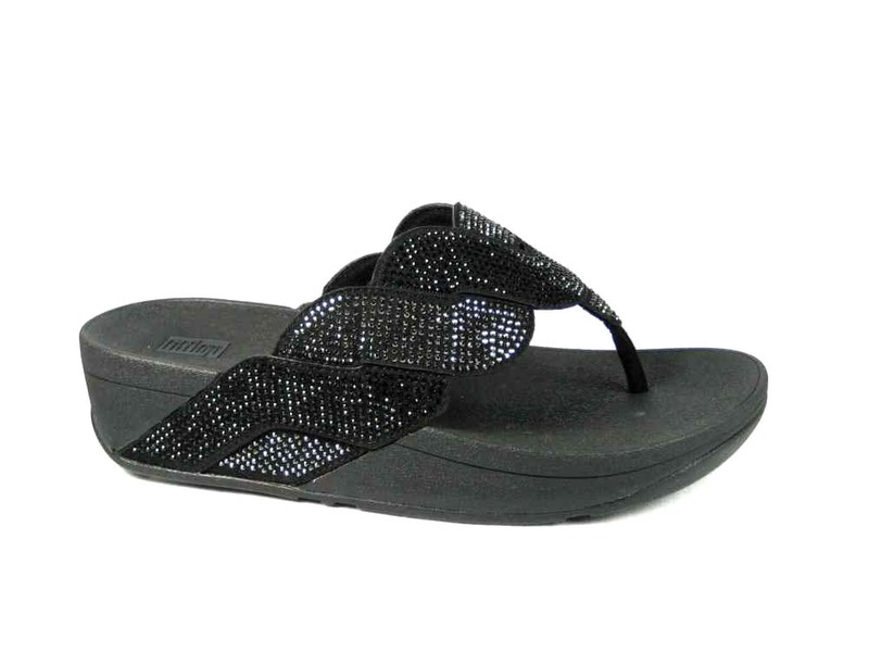 FitFlopTM Paisley Rope Toe Thongs