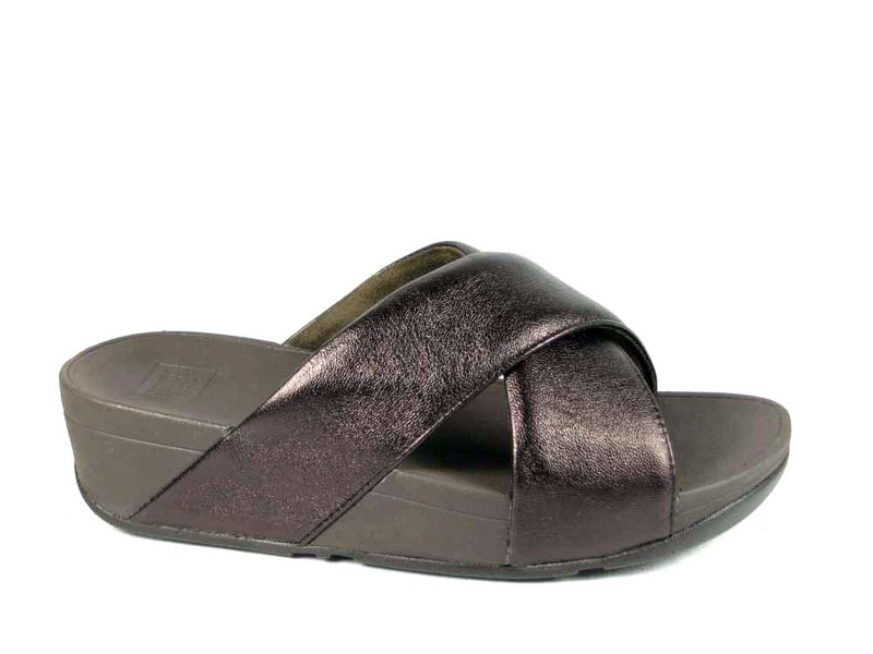 FitFlopTM Lulu Cross Slide Sandals