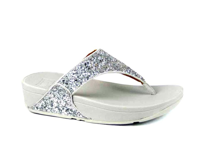 FitFlopTM Lulu Glitter Toe-Thongs
