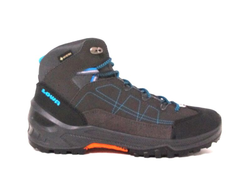 Lowa Approach GTX Mid Junior anthracite/turquoise